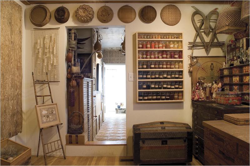 Gail rieke collage studios collage assemblage and for Studio interior design ideas